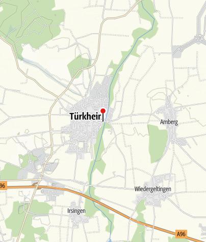 Karte / Türkheim