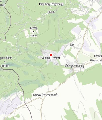 Térkép / Kerékpár Pont (Kern Vendégház)