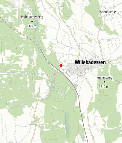 Karte / Bahnhof Willebadessen
