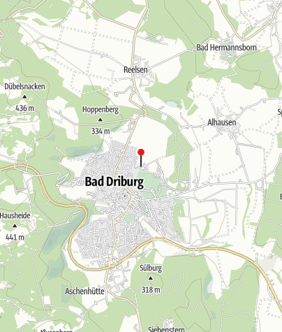 Karte / Driburg Therme - Biomaris-Beautyoase