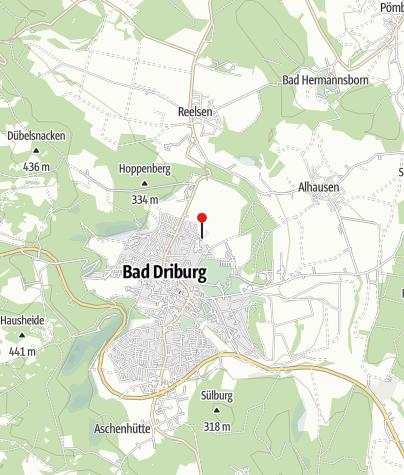 Karte / Driburg Therme - Die Gesundheitsoase