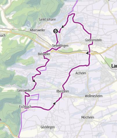 Karte / Fassbodentour 4