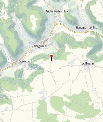 "Karte / ""Burgruine Berneck"""
