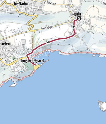 Map / Qala to Mgarr