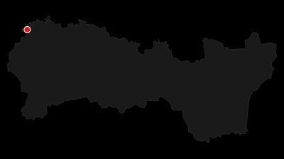 Mapa / Dolinou Piecky na vrchol a přes Kláštorisko a Prielom Hornádu do Hrabušic