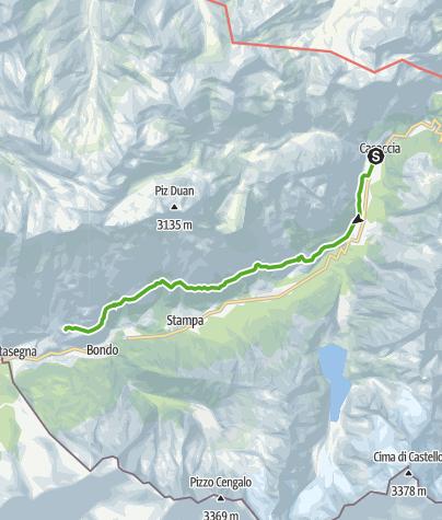 Cartina / Sentiero Panoramico