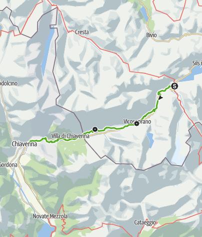 Map / Via Bregaglia