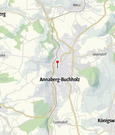 Karte / Richter Erzgebirge Annaberg Ladengeschäft