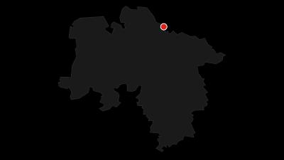 Karte / Nordseeküsten-Radweg // Niedersächsischer Abschnitt