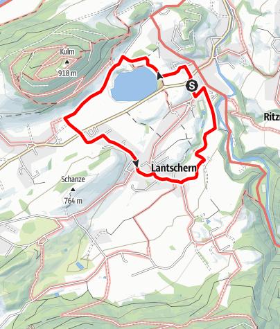 Map / Schlattham Lantschern Weg (Nr. 4)