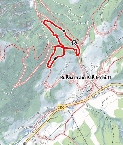 Map / Russbach: Sonnseit´nweg