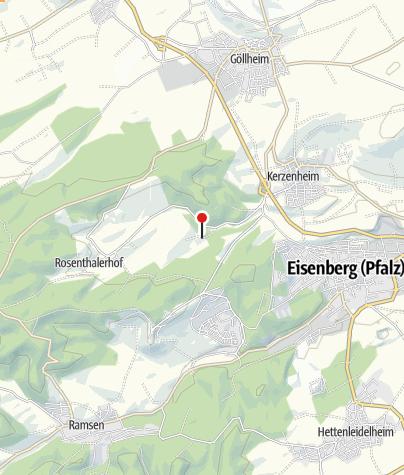 Karte / Arleshof Kerzenheim