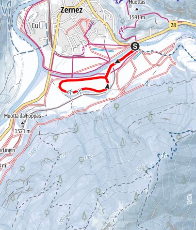 Karte / Zernez: Champatsch