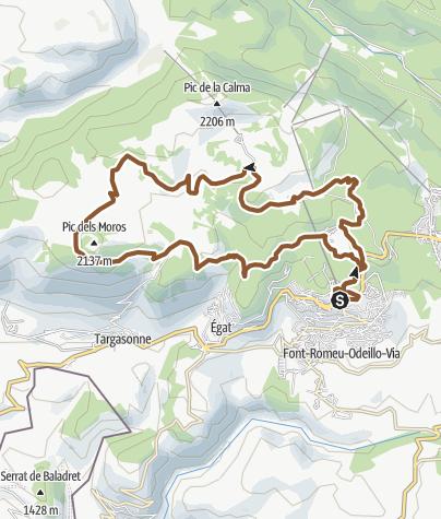 Carte / Pic des Mauroux
