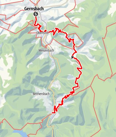 Karte / Premiumweg Murgleiter - Etappe 2