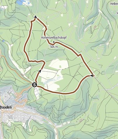 Karte / Mountainbikenetz Altenkirchen - Bergmannspfad (C)