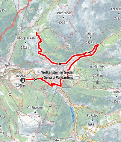 Карта / Tieres - Tiere im Wald