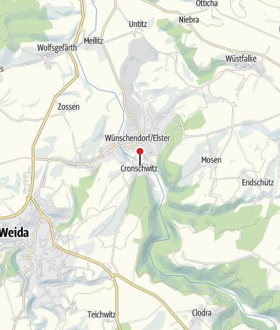 Mapa / Klosterruine Cronschwitz