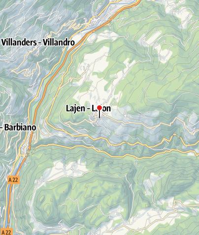 Mapa / Wanderführer Helmuth Grünberger