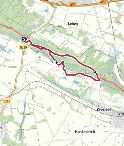 Karte / TERRA.tipp: Rundweg Dörenther Klippen