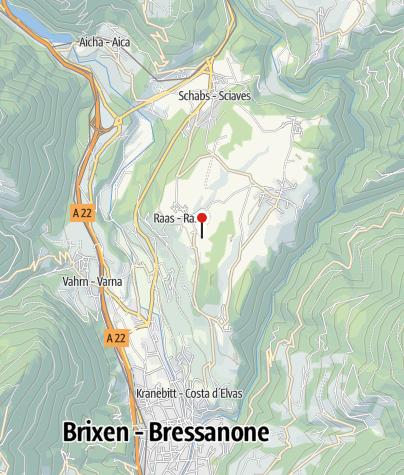 Mappa / Biotopo Raiermoos (Palù Raier) a Rasa