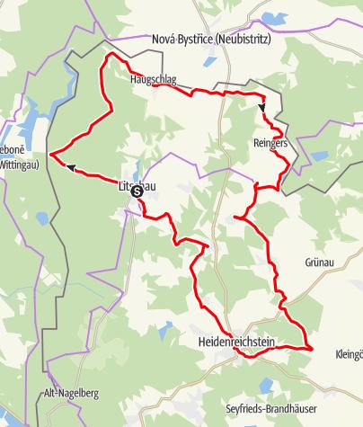 Mapa / Schrammelweg
