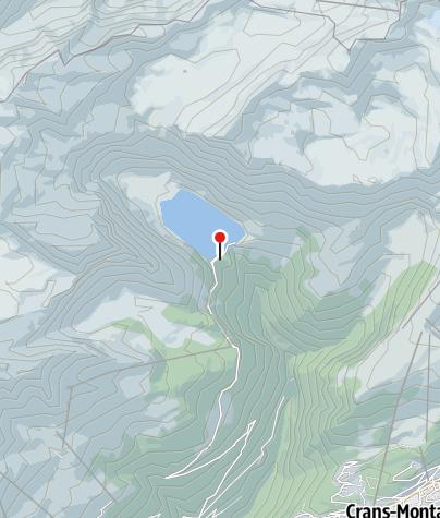 Map / Restaurant du Lac - Tseuzier