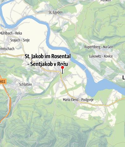 Karte / Erfrischungsmeile Rosenbach