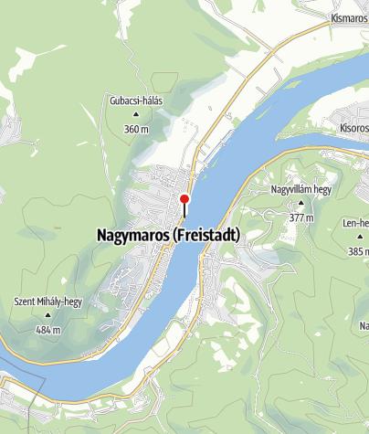 Térkép / BTZ Kajak-Kenu-Csónak kölcsönző