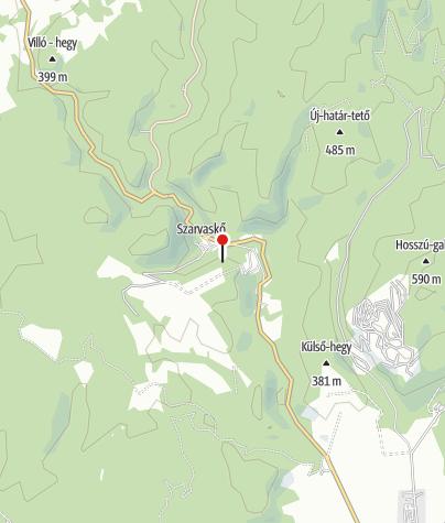 Térkép / Major-tetői kilátó (Szarvaskő)