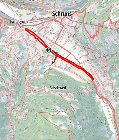 Karte / Sportrundweg