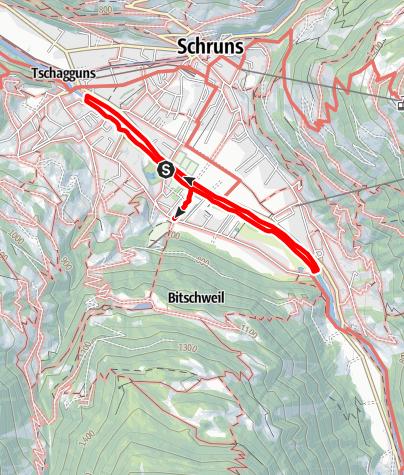 Map / Sportstättenweg