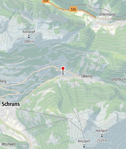 Karte / Apartment Silbertal