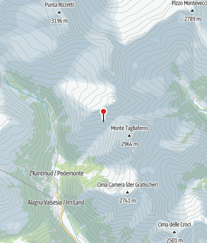 Karte / Rifugio al Ferioli