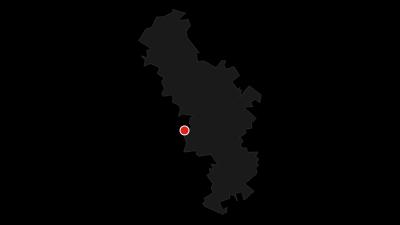 Karte / Weser-Radweg, 2. Etappe: Von Höxter nach Hameln