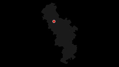 Karte / Weser-Radweg, 3. Etappe: Von Hameln nach Minden