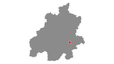 Karte / Weser-Radweg, 5. Etappe: Von Nienburg nach Verden
