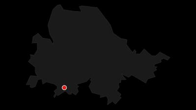 Karte / Weser-Radweg, 7. Etappe: Von Bremen nach Nordenham/Bremerhaven