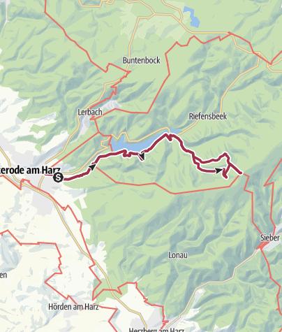 Karte / Die Hanskühnenburg