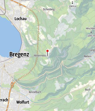 Karte / Alpenwildpark Pfänder