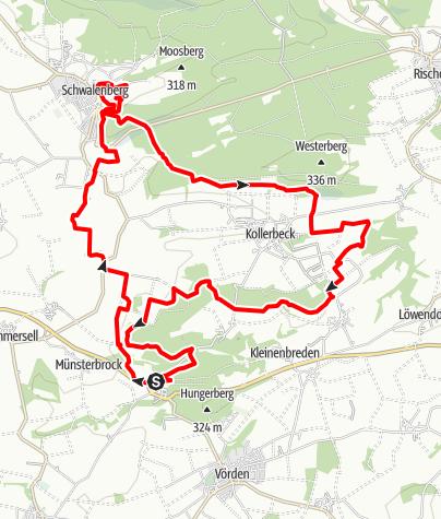 Karte / Niesetalweg