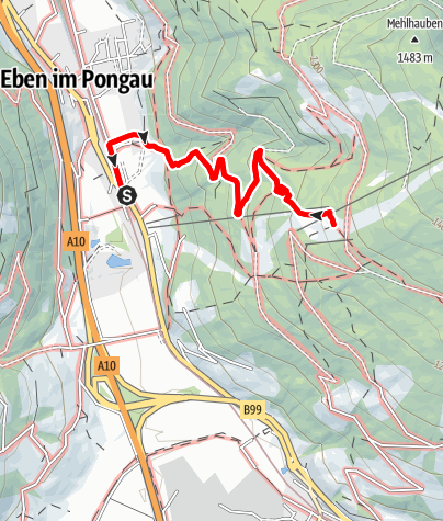 Karte / KITIWAPF - Kinder-Tiere-Wanderpfad Abenteurer-Weg