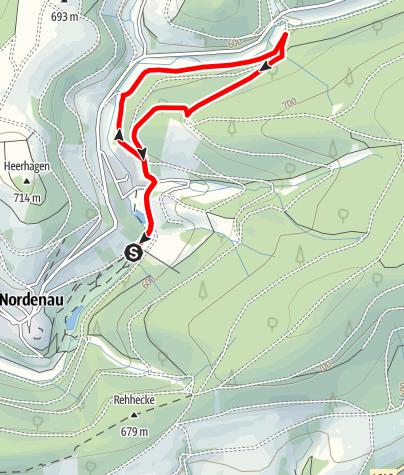 Karte / nordenau tour 3