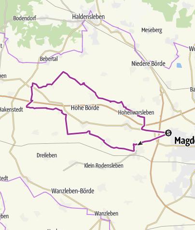 Karte / Holunderradwege
