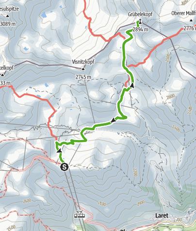 Karte / Grübelekopf
