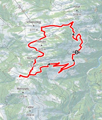 Karte / E-Bike Rundtour Furnerberg