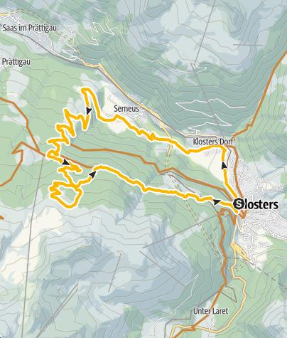 Karte / 329 Alp Casanna