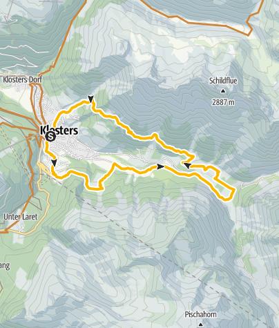 Karte / 331 Alp Garfiun
