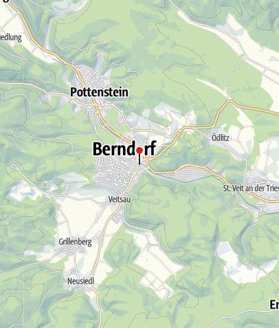 Karte / KIA Aigner-Hauke Bewegungsarena BERNDORF