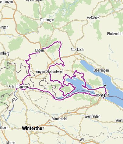 Karte / Grenzenloses Garten-Rendezvous am Westlichen Bodensee